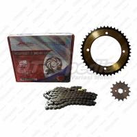 Gear Set / Gear dan Rantai Motor / Chain Kit Kawa KLX 150 S
