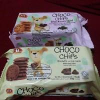 Lee Biscuits Choco Chips Blackcurrant Biskuit Cokelat