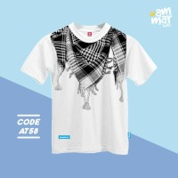Baju Muslim Anak model Kaos anak Laki Laki umur 9 tahun - 12 tahun XXL