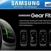 ORIGINAL SAMSUNG Gear Fit 2 Pro Long Strap (L) - Black