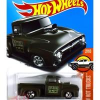 Custom '56 Ford Truck HIJAU / GREEN - Hot Wheels HW Hotwheels