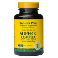 super c complex/natures plus/vitamin c 1000 mg/isi 60