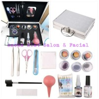 ALAT TANAM BULU MATA / PAKET EYELASHES EXTENSION SET BOX