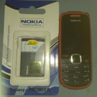 hp Nokia gsm 1661-2 seken murah plus batre baru