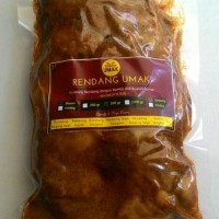Jual 250 gr Rendang Jengkol Bumbu Asli Home Made Fresh 0,25 kg Murah