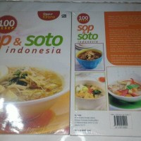 buku masak 100 resep sop & soto indonesia Dapur kirana