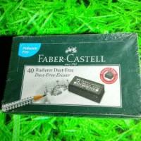 Penghapus FABER CASTELL Hitam (satuan)