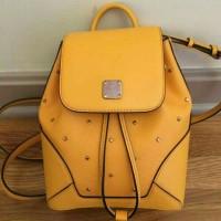 tas kulit asli mcm , original bags, branded, backpack, ransel
