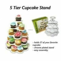 Harga 5 Tier Cupcake Stand Travelbon.com