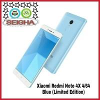 Jual Xiaomi Redmi Note 4X 4/64 (Blue) - Garansi Distributor 1 Tahun Murah