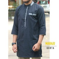 Jual Pakaian muslim pria atasan muslim qurta baju Gamis casual Baju Koko Murah