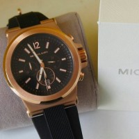 jam tangan pria michael kors mk black watch original 100% authentic