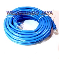 Kabel LAN Cat6E 15 meter HOWELL Rj45 siap pakai jadian