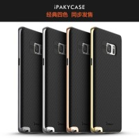 Ipaky PC+Silicone Back Cover Case Galaxy Note 7 Fan Edition FE