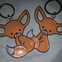 Fennec Fox keychain acrylic made
