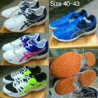 Asics Gel Rocket Original(Sepatu Badminton, Bulutangkis, Tennis, Voli)