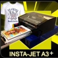 Printer DTG Instajet A3+ CYMK only Kaos Putih dan Terang