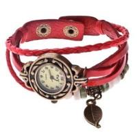 Jual jam tangan wanita tali fashion import Tribal Vintage Etnik / jam cewek Murah