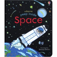 Usborne Peep Inside Space A Lift-the-Flap Board Book