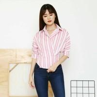 Jual Stripe Shirt Murah