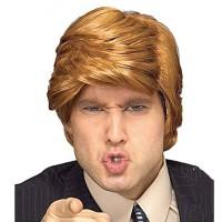 L-Wig Donald Trump cosplay pesta kostum rambut palsu pirang