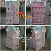 Mainan Anak Rumah Barbie Fairytale Homestead Dollhouse