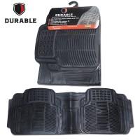 PANTHER 2002 2012 Karpet Mobil Karet PVC DURABLE 1Pcs Baris 3 BLACK