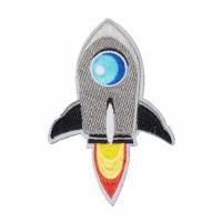 Patch Iron Patch Crm Rocket Ukuran L: 7cm T: 10cm