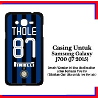 Samsung J7 2015 INTER A37 THOLE Custom Hard Case