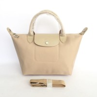 TAS WANITA AUTHENTIC LONGCHAMP LE PLIAGE NEO SMALL - Cream f1a0494686