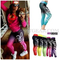 CELANA LEGGING SIX DEUCE FITNESS SERIES TWO TONE COMPRESSION TIGHT
