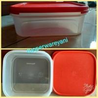 Tupperware MMS1 Modular Mates Square Based Bening Seal Biru (1)