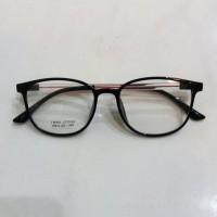 kacamata frame lentur untuk pria dan wanita free lensa