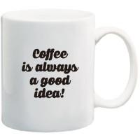 Jual Stiker Gelas Mug Quotes Sticker Home Decor Coffee Good Idea Glass  Murah