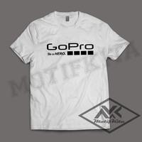 Kaos GOPRO (action cam, fotografi, kamera go pro) keren terbaru