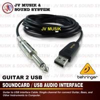 Behringer GUITAR 2 USB ( Gitar Bass to USB Computer )