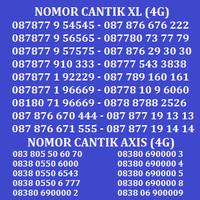Kartu Perdana Nomor Cantik No Cantik XL Simpati AS Indosat Axis Im3