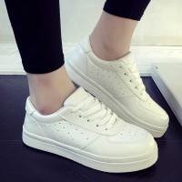 TagAll Tokopedia Sepatu Kets Wanita Putih Solid |Replika Adidas
