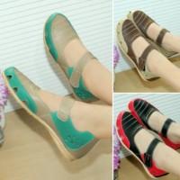 TagAll Tokopedia Sepatu Wanita Flat shoes Casual Adiva Kode M01 Murah