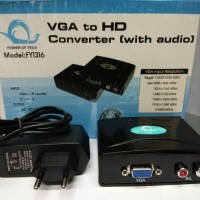 VGA to HDMI Converter / HD HDTV Video Converter Box