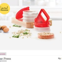 Burger Press Tupperware