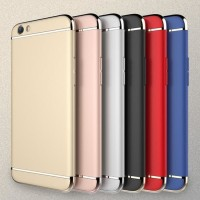 Case 3 in 1 Plated PC Frame Bumper For iPhone | Oppo |