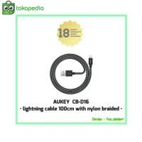 harga Aukey Cb-d16 Lightning Kabel 100 Cm Untuk Iphone 5/5s/6/6s/7 Original Tokopedia.com
