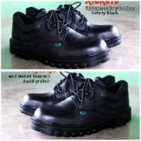 sepatu boots kulit touring kerja kitchen pria safety shoes safety beli