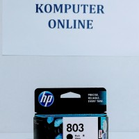 HP 803 Black Catridge Printer Tinta 100% Original