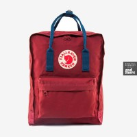 ORIGINAL Fjallraven Kanken Ox Red-Royal Blue Kanken Classic Backpack