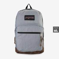 ORIGINAL JanSport Tas Right Pack Expressions Blue Chambray, Wild Rose