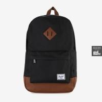 ORIGINAL Herschel Heritage Mid-Volume Backpack Black