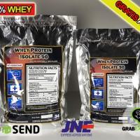 Jual Whey Protein ISOLATE WPI 90 100% Whey Free Amino Susu Protein Murah