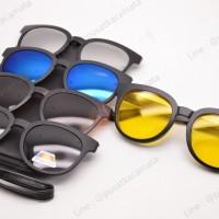 harga Kacamata Night Vision Polarized Clip On 5 Lensa 1900a Tokopedia.com